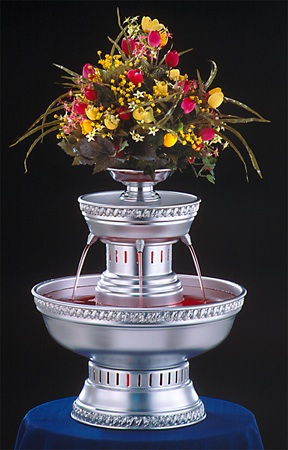 "21"" - Apex Hostess Punch Fountain - 3 gallon (3011-ST)"