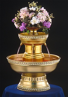 "21"" - Apex Hostess Punch Fountain - 3 gallon (3012-GT)"