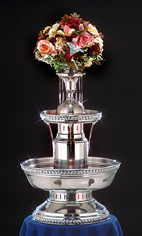 "33"" - Apex 5th Avenue Punch Fountain - 5 gallon (4007-04-SS)"