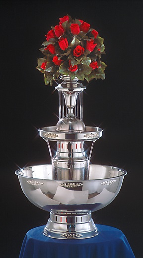 "31"" - Apex Royal Princess Punch Fountain - 7 gallon (4009-SS)"