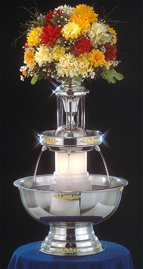 "29"" - Apex Tropicana Sunrise Punch Fountain - 5 gal (4015-04-GT)"