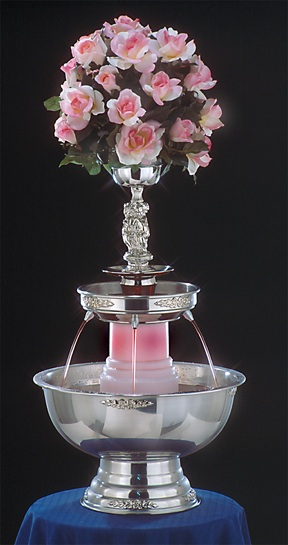 "30"" - Apex Tropicana Punch Fountain - 5 gallon (4015-SS)"