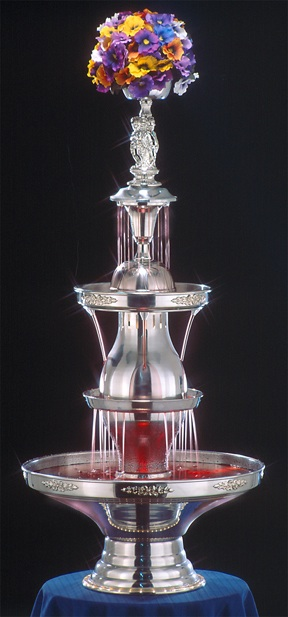 "46"" -50th Anniversary Starlight Punch Fountain-5 gal (4050-1-SS)"