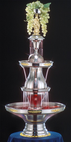 "46"" -50th Anniversary Starlight Punch Fountain-5 gal (4050-1-GT)"