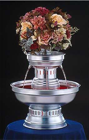 "21"" - Apex Hostess Punch Fountain - 3 gallon (3011-S)"