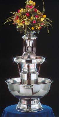 "31"" - Apex Royal Princess Punch Fountain - 5 gallon (4008-SS)"