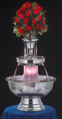 "29"" - Apex Tropicana Sunrise Punch Fountain - 5 gal (4015-04-SS)"