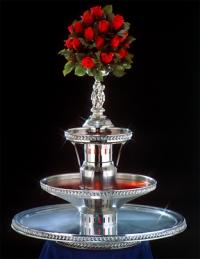 "33"" - Apex Royal Empress Punch Fountain - 5 gallon (4048-SS)"